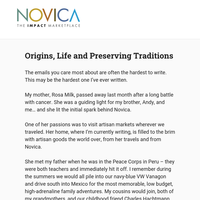 Origins, Life and Preserving Traditions