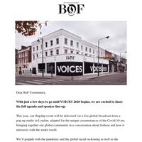 VOICES 2020 - Full Agenda Available Now