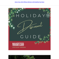 6 Christmas and Holiday Decorating Military Discounts