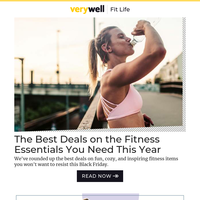 The Fitness Essentials You Need This Year: Our Top Black Friday Picks