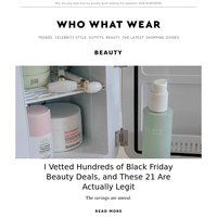 I vetted hundreds of Black Friday beauty deals—these 21 are actually legit