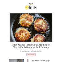 Fluffy Mashed Potato Cakes, The Best Deals from Macy's Huge Black Friday Sale & More from Kitchn