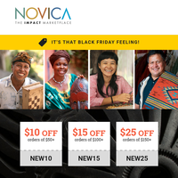 Black Friday is Here - Up to $25 off!