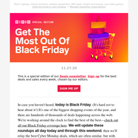 Best Black Friday sales: TVs, deals under $50, and more