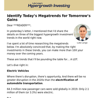 Identify Today's Megatrends for Tomorrow's Gains