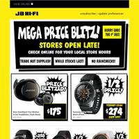 Mega Price Blitz on Fitness & Audio!
