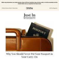 Why You Shouldn't Put Your Passport in Your Carry-On Next Time You Fly