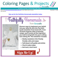 FOUND:  Free Faith-Based Recipes and Crafts Just In Time for the Holidays!