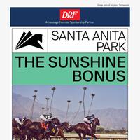 $3,000 Starter Bonus at Santa Anita Park