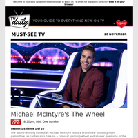 Don't miss: Michael McIntyre's The Wheel at 8:30pm on BBC One London