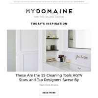 15 cleaning tools HGTV stars and top designers swear by