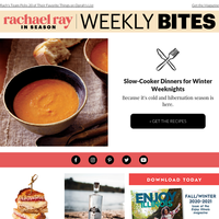 Slow-Cooker Winter Dinners & More From Rachael Ray In Season