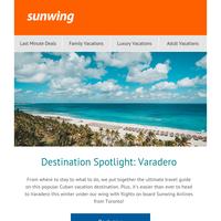 Destination Spotlight: Varadero