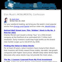 Elon Musk's MONUMENTAL Confession