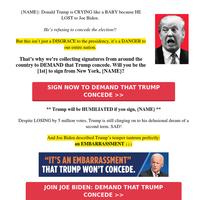 💥 Joe Biden 𝗦𝗟𝗔𝗠𝗦 Donald Trump [!!!]