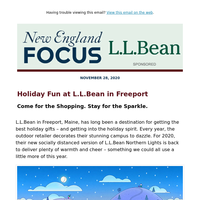 Holiday Fun at L.L.Bean in Freeport