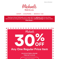 You've seriously earned up to FIFTY PERCENT OFF Christmas!