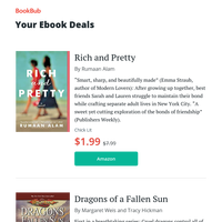 Your ebook bargains for Sunday
