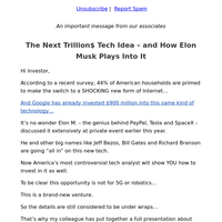 The Next Trillion$ Tech Idea – and How Elon Musk Plays Into It