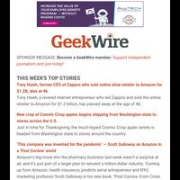 GeekWire's Most-Read Stories of the Week