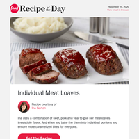 Ina's Irresistible Mini Meatloaves