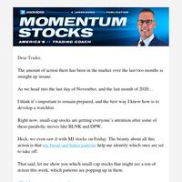 [Small-Cap Watchlist] 4 Stocks That Can Run Higher