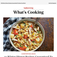 Winter Dinner Recipes Guaranteed To Keep You Warm