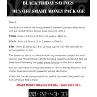 ⚫ACORN BLACK FRIDAY BREAKOUTS| Your 91% Savings Ending Soon⚫
