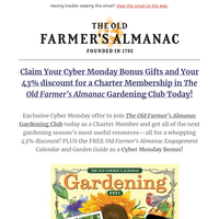 Early Cyber Monday Offer!