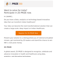 Solve for India. Up to 1 Cr in rewards