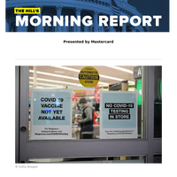 The Hill's Morning Report - Presented by Mastercard - 1/ Administration officials warn of grim post-Thanksgiving period as COVID-19 totals surge. 2/ CDC calls emergency meeting Tuesday on population eligible for initial vaccines. 3/ Biden breaks foo