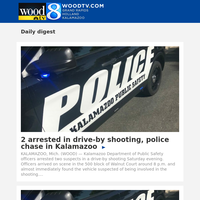2 arrested in drive-by shooting, police chase in Kalamazoo (30 November 2020, for {EMAIL})