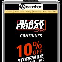 Black Friday Through Cyber Monday Save 10%