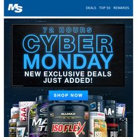 Cyber Monday Sale + Black Friday Deals Extended!