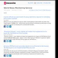 World News (Mon 30 Nov 2020)