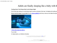 Over 80 million struggle to sleep. Here`s how to fix it...