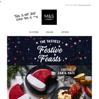Step into your tastiest December ever - Christmas cheer inside