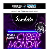 Missed Our Black Friday Sale? Cyber Monday is Here with the Ultimate Romance Package