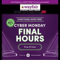 Cyber Monday. (F I N A L. H O U R S.)