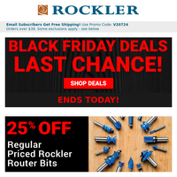 It's Now or Never – Black Friday Deals End at Midnight!