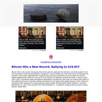 Your Cryptocurrency Newsletter for 01 December,2020