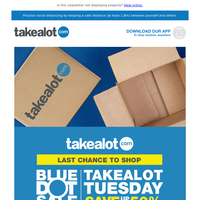 🔵 Blue Dot Sale Takealot Tuesday 🔵 Up to 50% OFF tech, home, beauty & health, toys & more