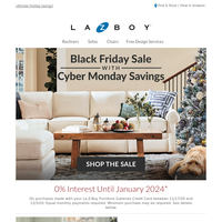 The Season's Best Deals! Cyber Monday + Black Friday