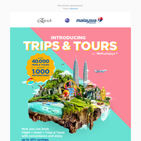 Introducing Trips & Tours by MHholidays.