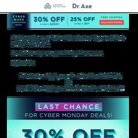 Bye, bye 30% off + free shipping