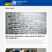 Merriam-Webster's top word of 2020 is no surprise (01 December 2020, for {EMAIL})