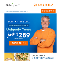 Uniquely Yours (TOP-RATED) Plan Just $289!