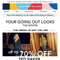 The winter dress up guide. Up to 80% off