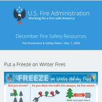 December Fire Safety Resources