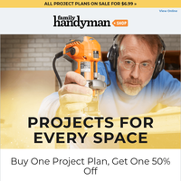 Get 50% off your second project plan!
